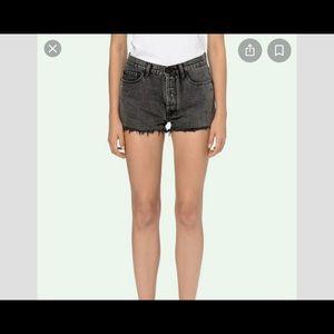 Acne Studios DIY cutoff jean Shorts